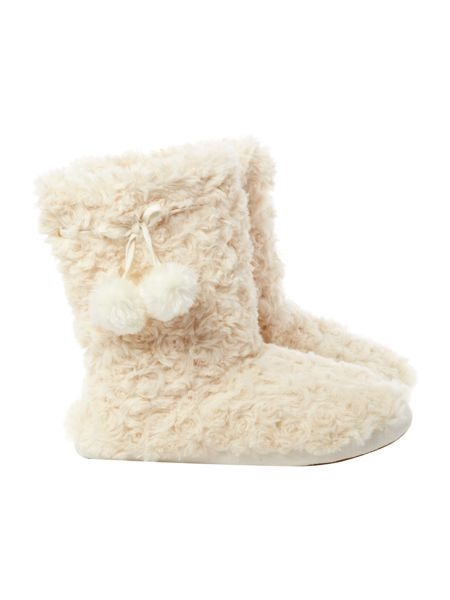 Therapy Faux Fur booties