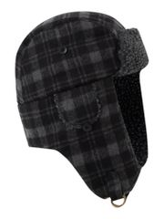 Howick Checked trapper hat