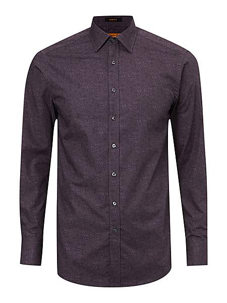 Simon Carter Dark Floral Long Sleeve Shirt