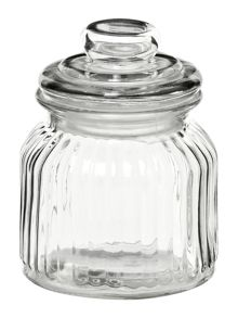 Linea Glass sweetie jar, small