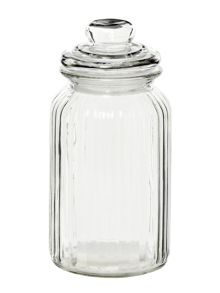 Linea Glass sweetie jar, large