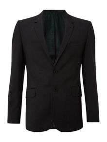 Slim fit pindot suit jacket