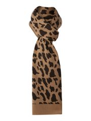 Linea Animal Print Reversible Scarf