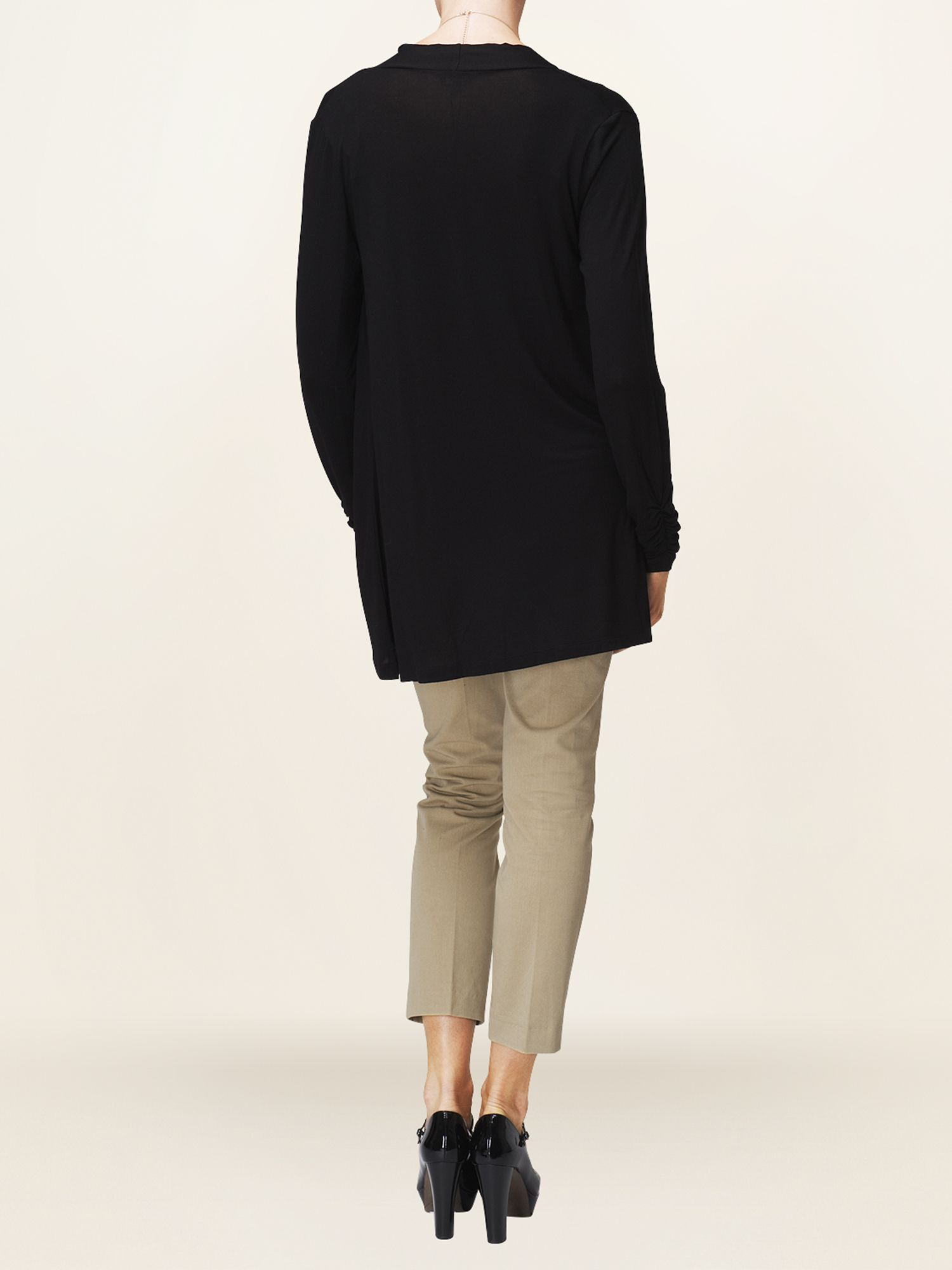 Amrita ruched cardigan