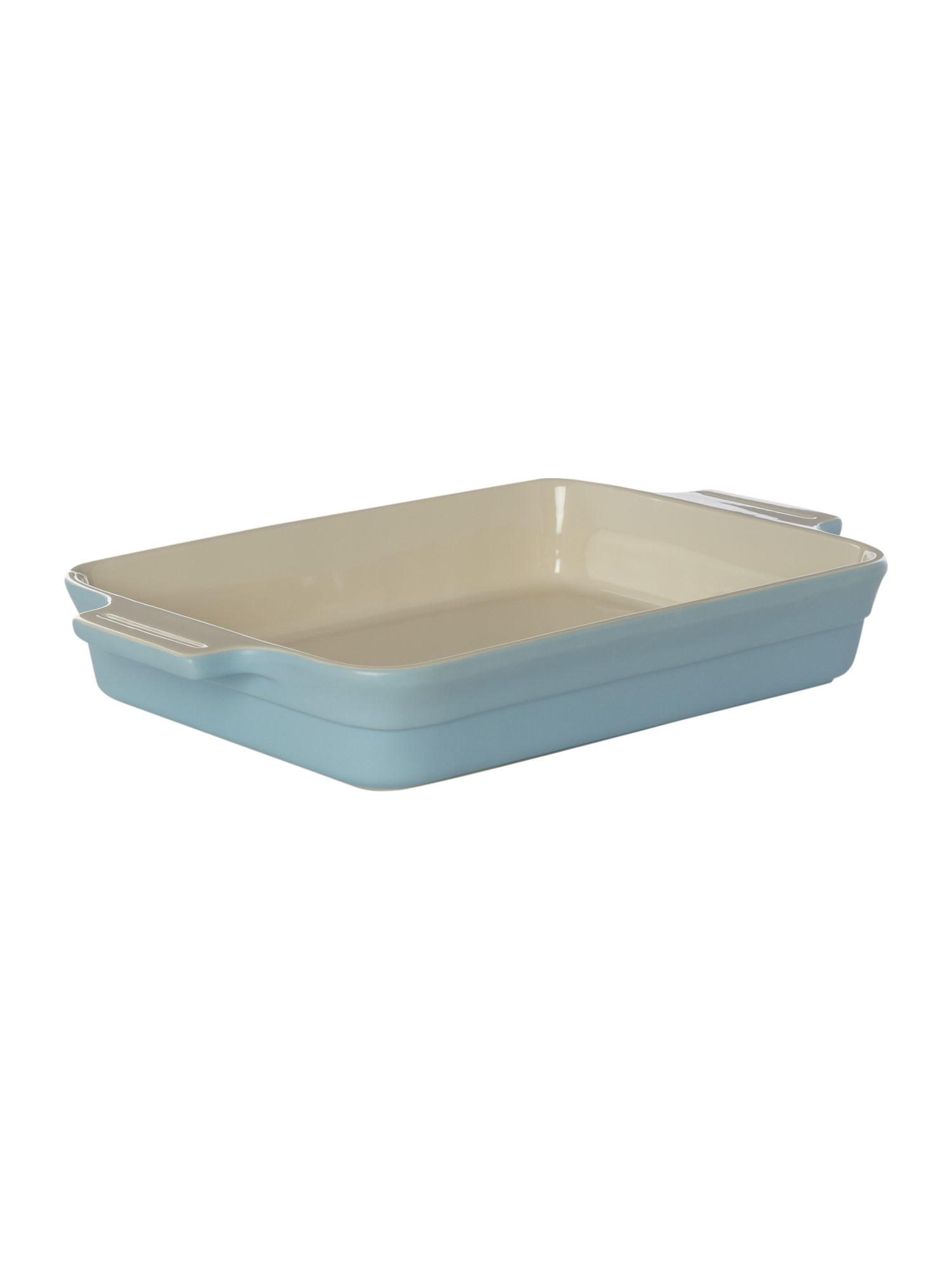 Maison rectangular baker 32cm, Pale blue