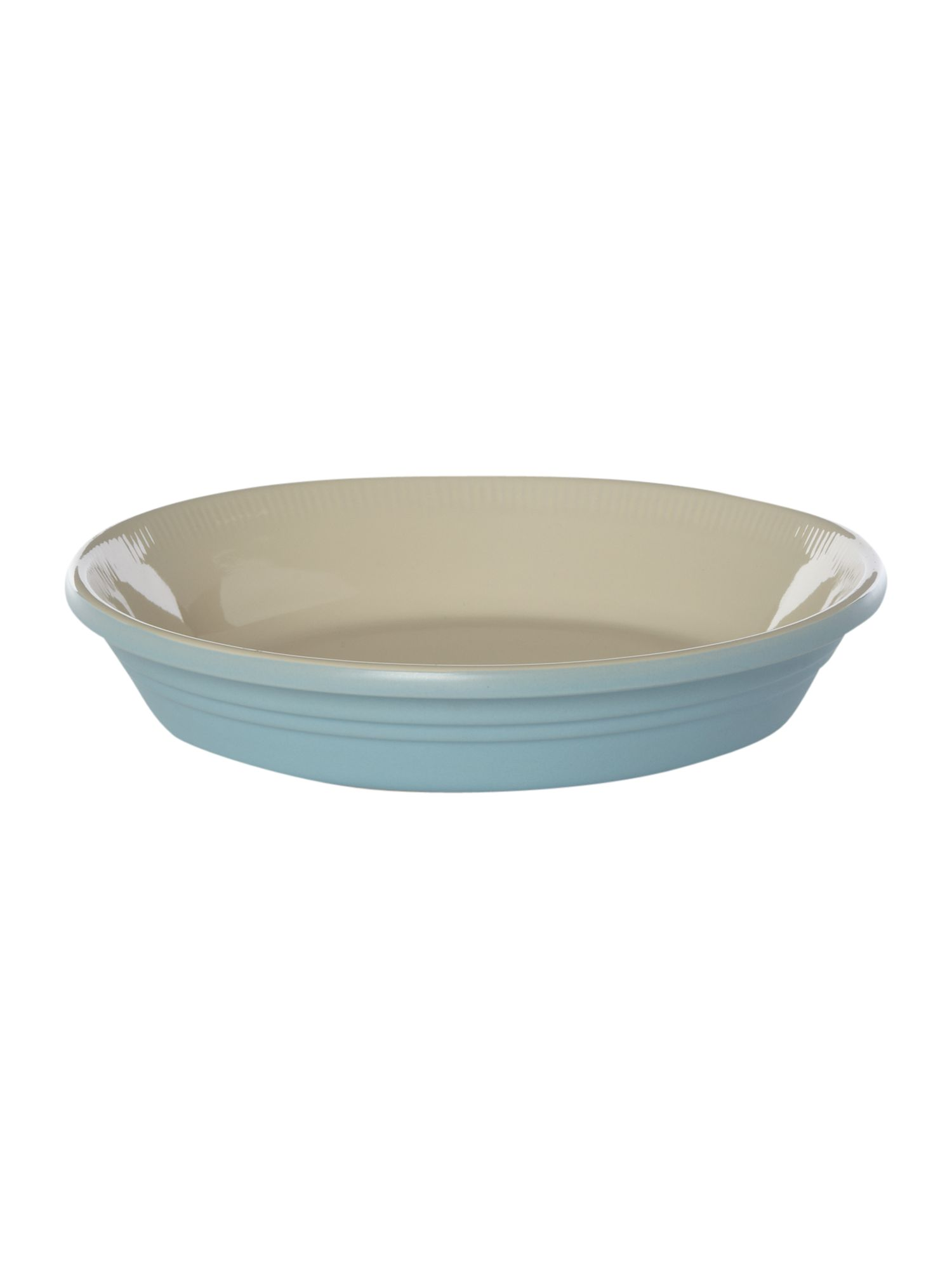 Maison pie dish 25cm, Pale blue