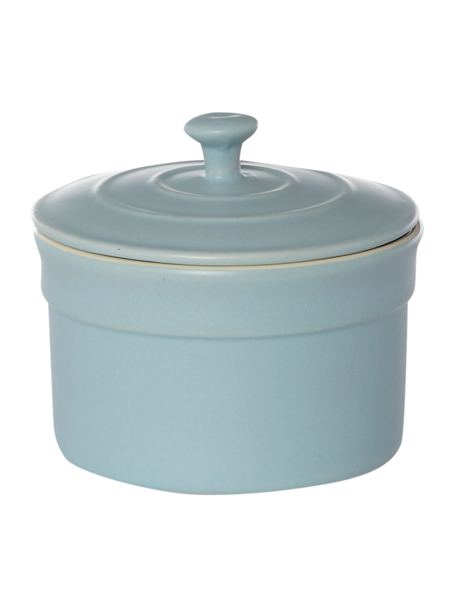 Maison sugar bowl, pale blue