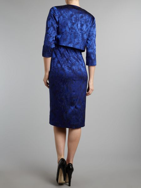 Shubette Stretch jacquard dress and matching jacket