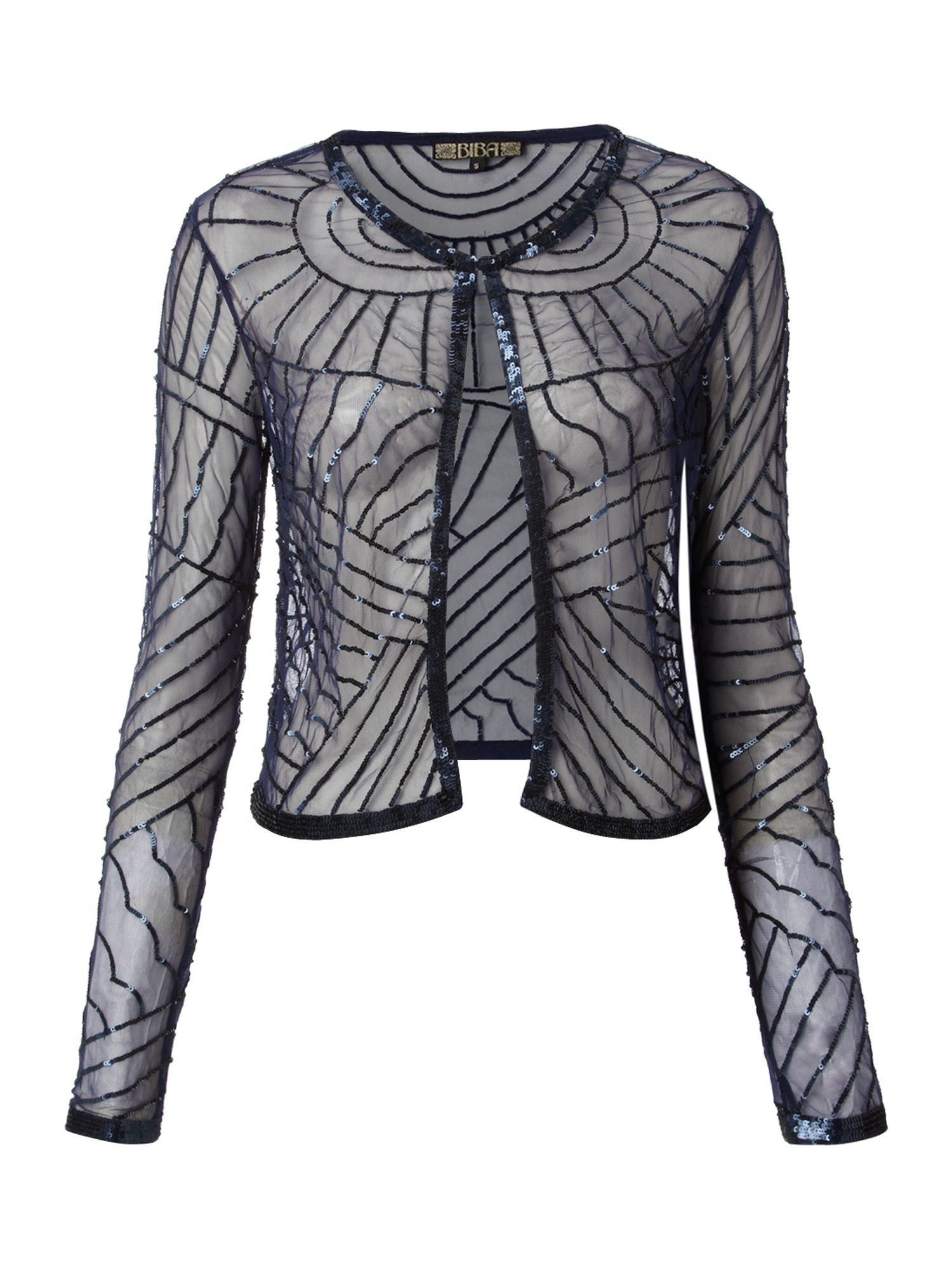 Deco embellished jacket