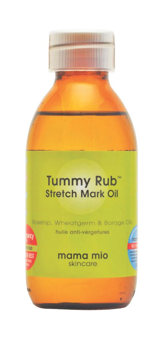 Mama Mio Tummy Rub Stretch Mark Oil