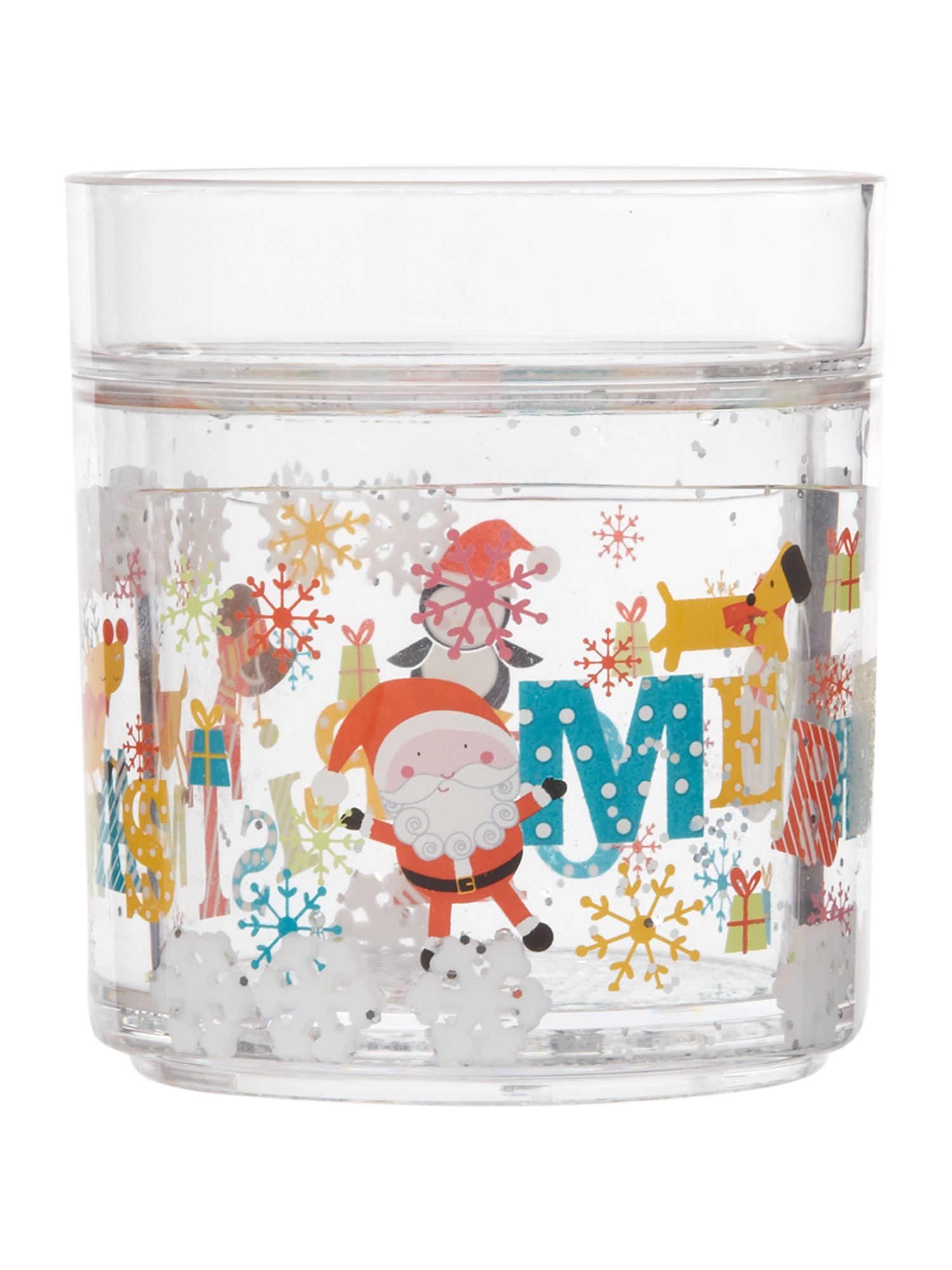Novelty frosty shaker tumbler