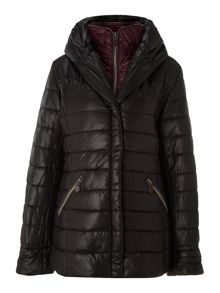 Two zip padded jacket