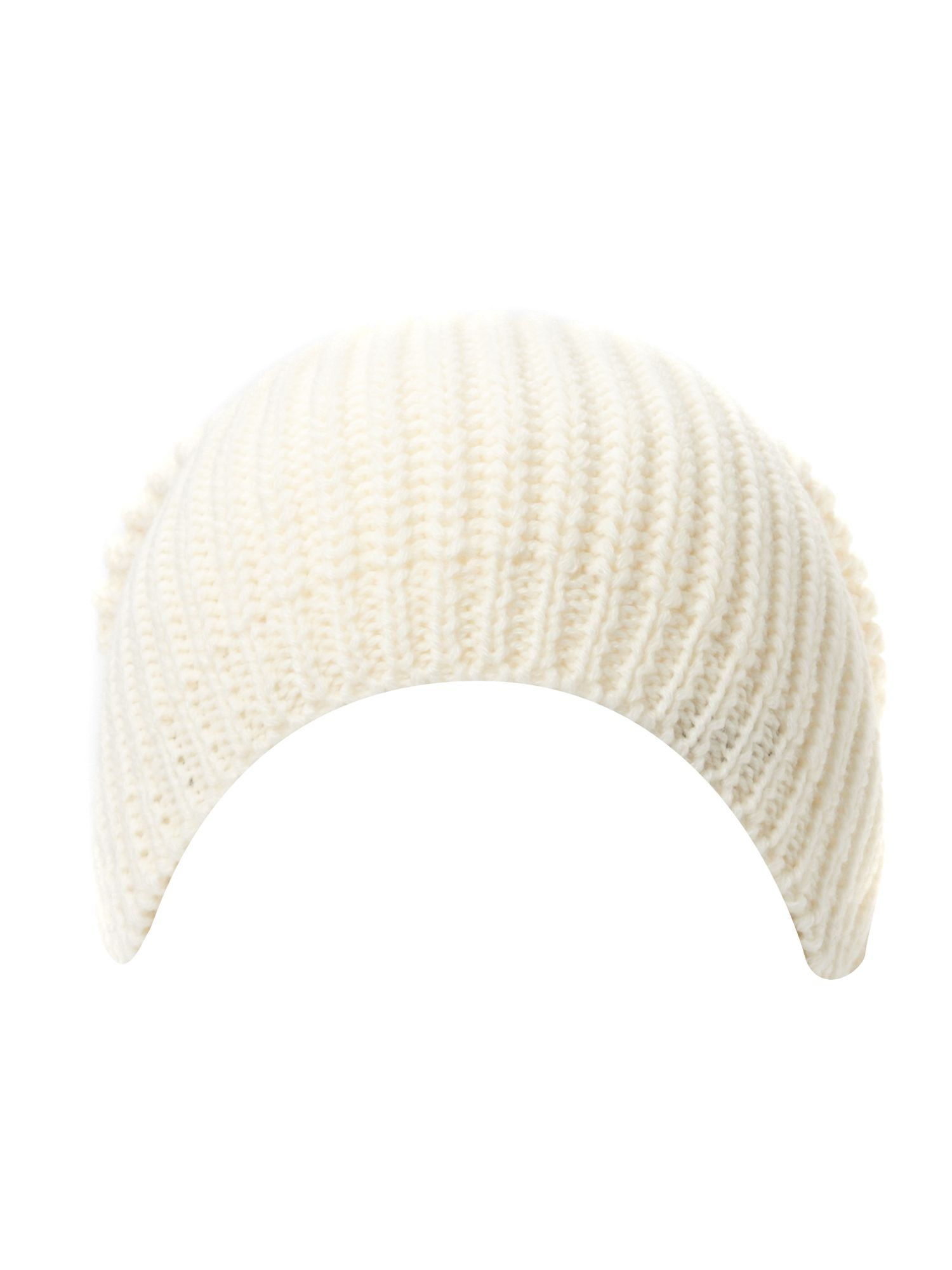 HOF exclusive ribbed bobble beanie