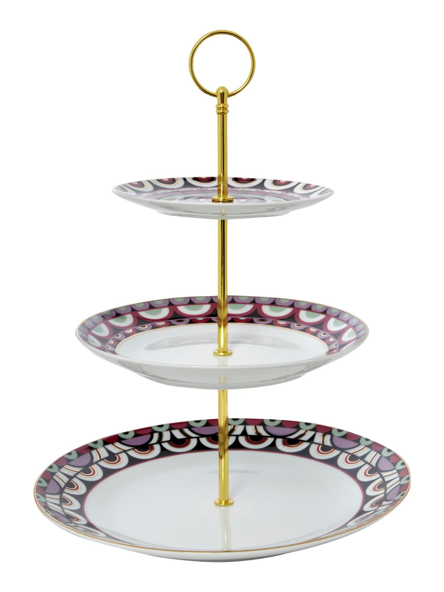 Pied a Terre Persia Jewel 3 tier cakestand