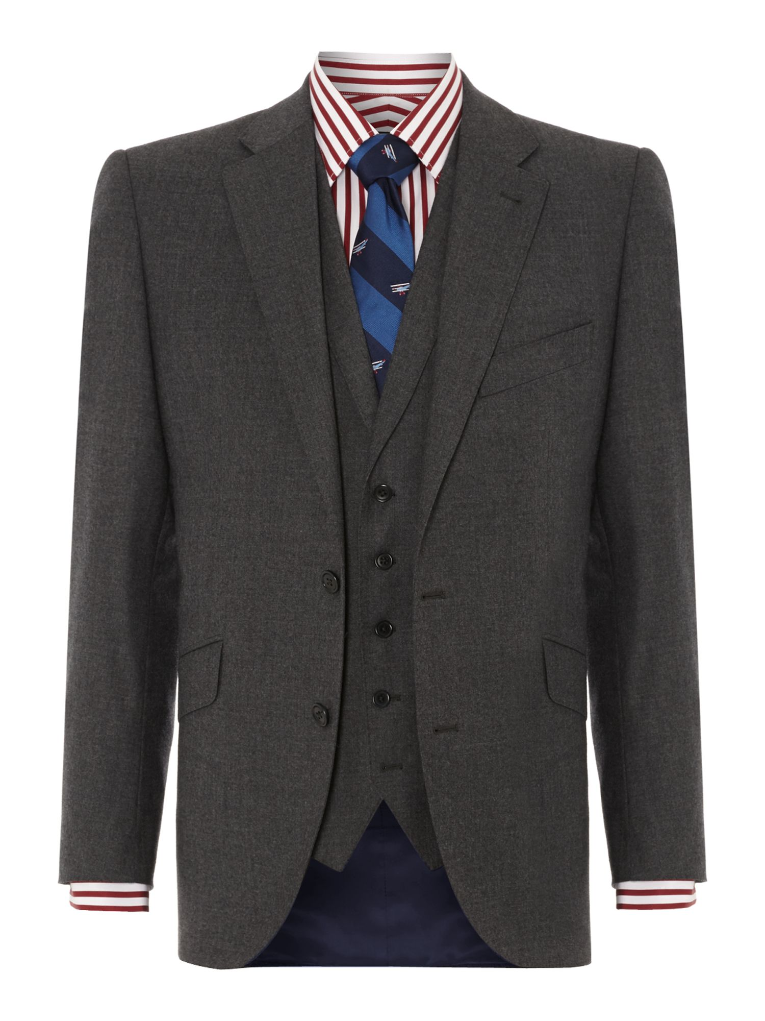 Queensbury Flannel Suit Jacket