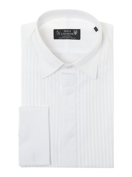 New & Lingwood Fulham Wing-Collar Dress Shirt
