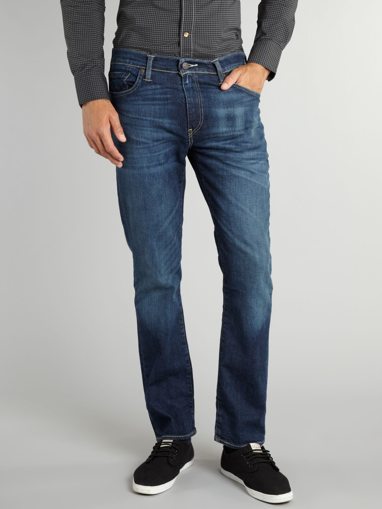 511 rain shower dark rise slim jeans