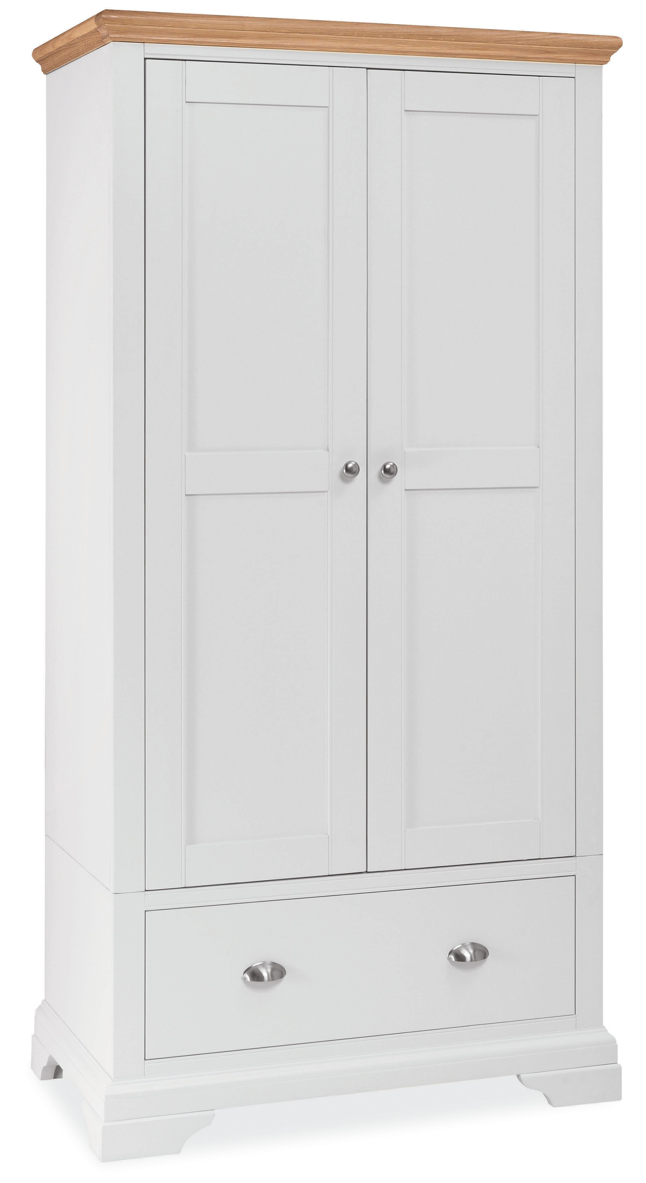 Etienne Double Wardrobe With Drawer