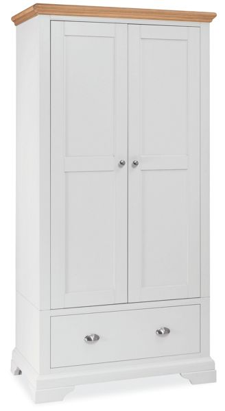 Linea Etienne Double Wardrobe With Drawer