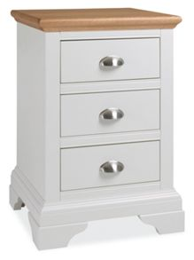 Etienne 3 Drawer Bedside Chest