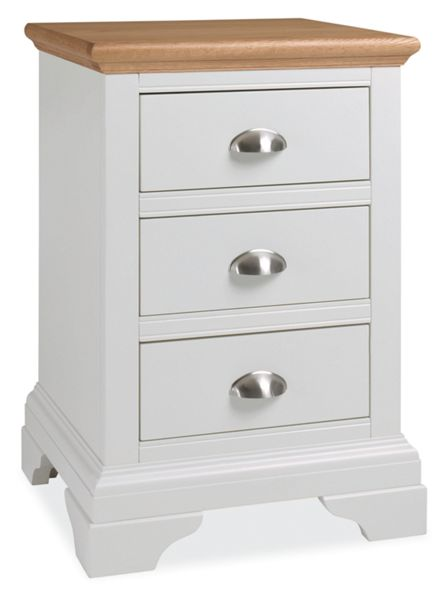 Linea Etienne 3 Drawer Bedside Chest