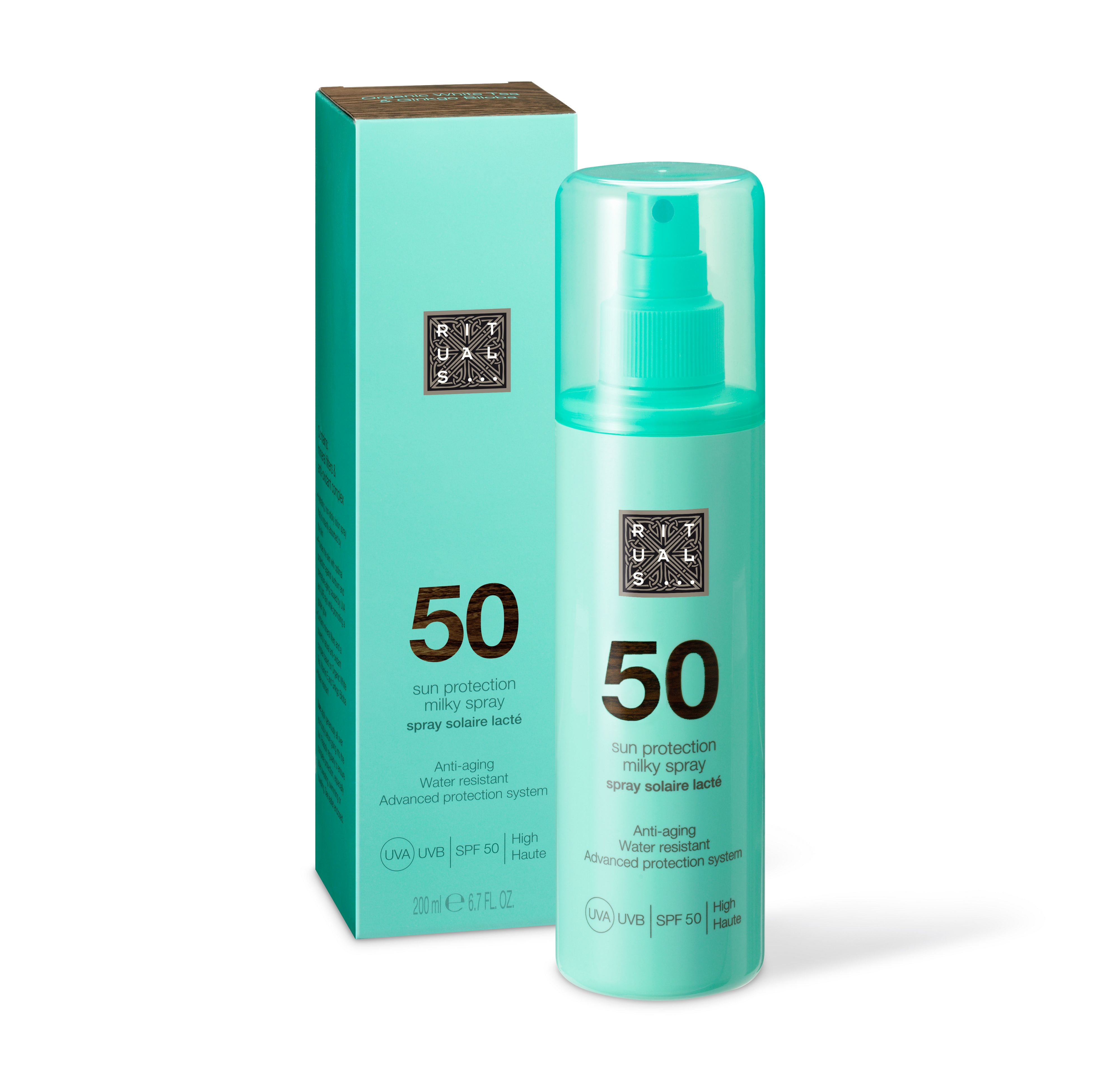50 sun protection milky spray