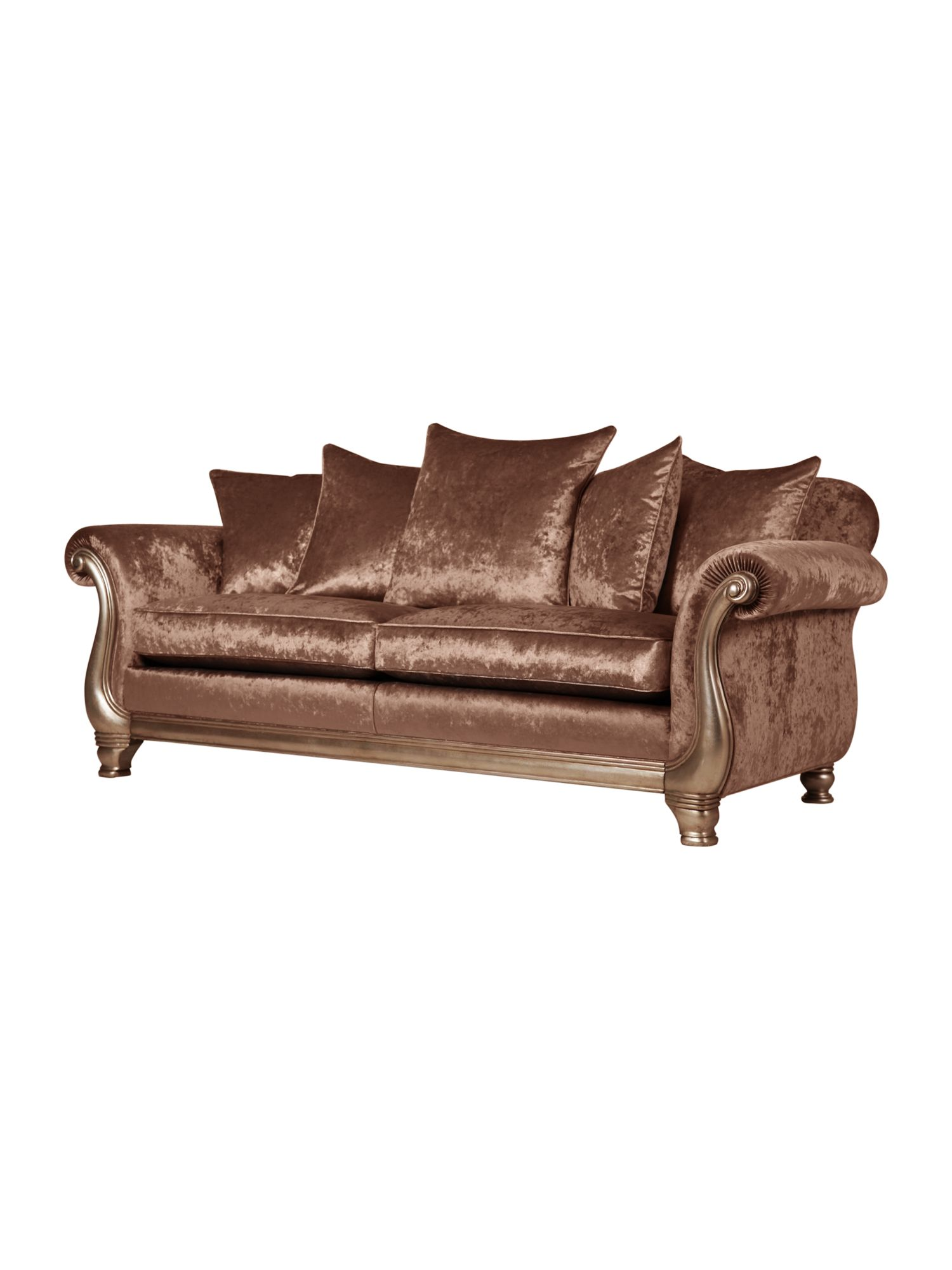 Cannes large sofa mink