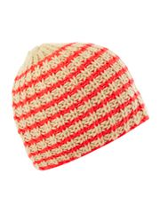 Pieces Stripe knitted beanie hat