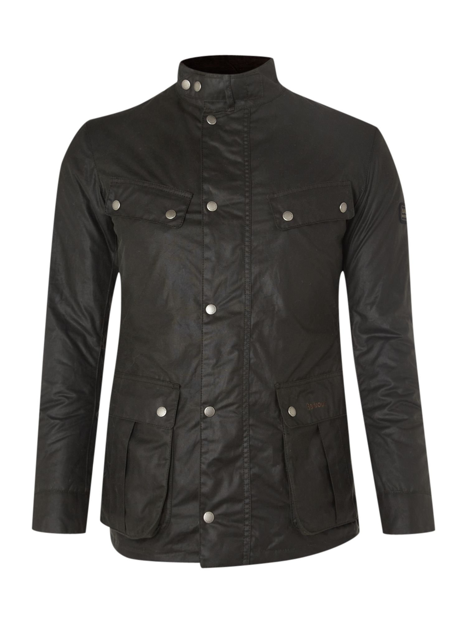 Mens Barbour Wax International Duke Jacket Sage