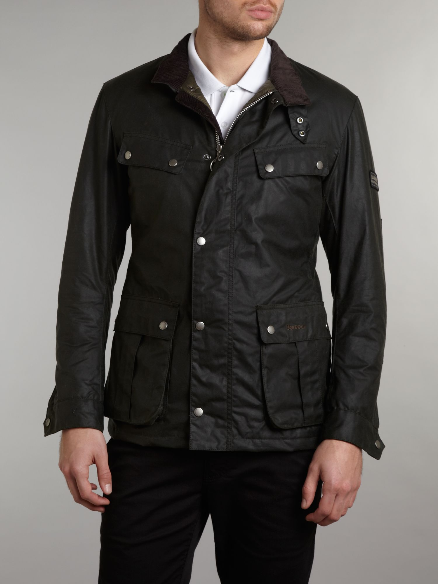 Barbour Enfield Wax Jacket Peninsula Conflict Resolution