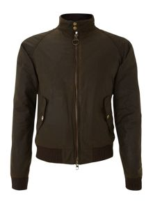Barbour Wax Steve McQueen merchant bomber jacket
