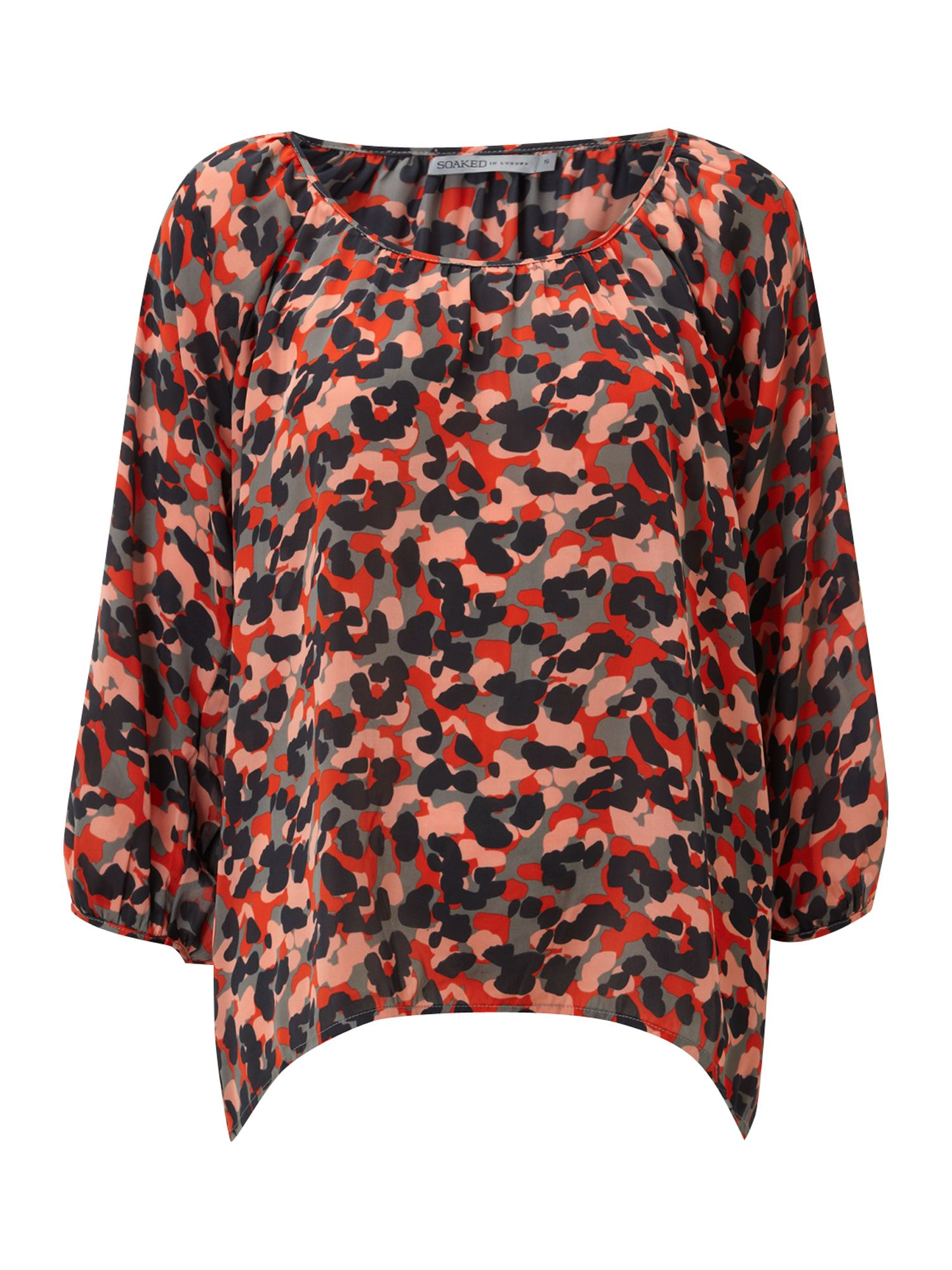 Soaked in Luxury Womens Soaked in Luxury Flanis blouse, product image