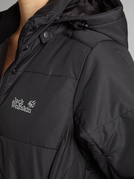 Jack Wolfskin Iceguard long padded jacket