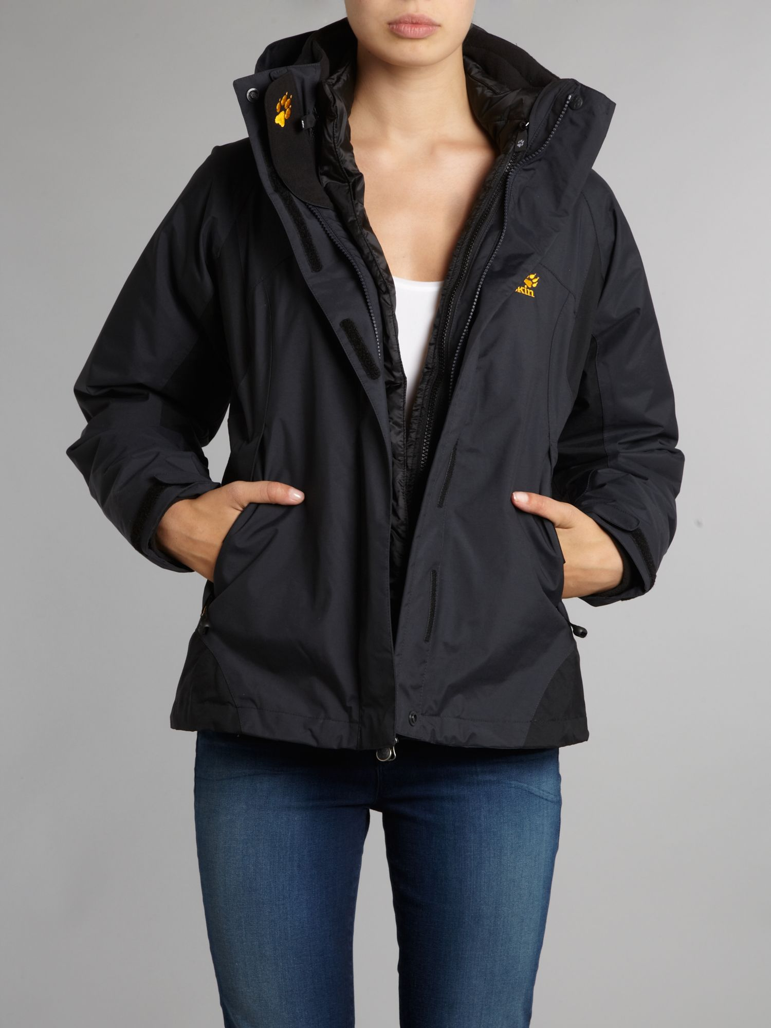 White rock innner down coat