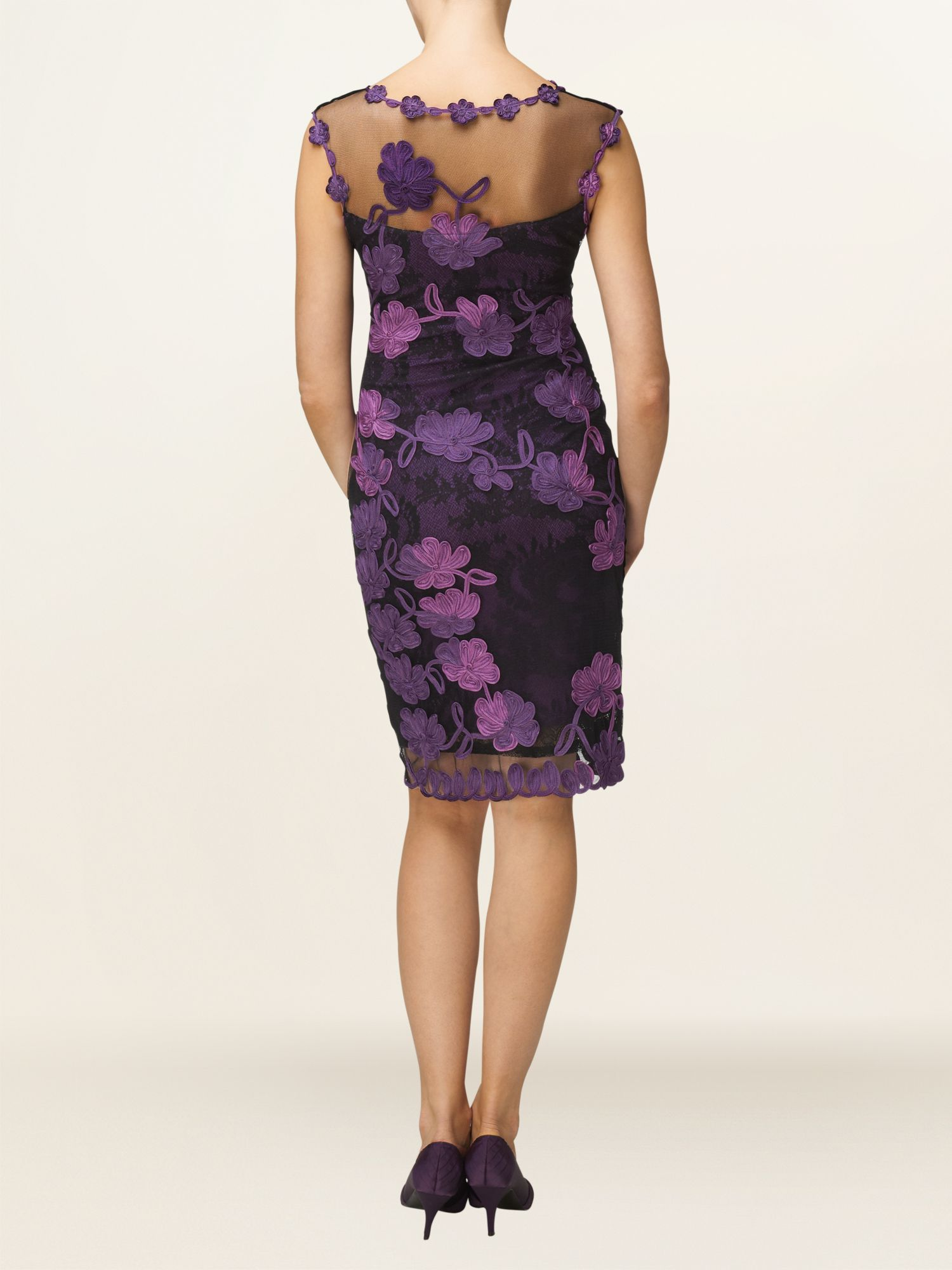 Fifi lace tapework dress