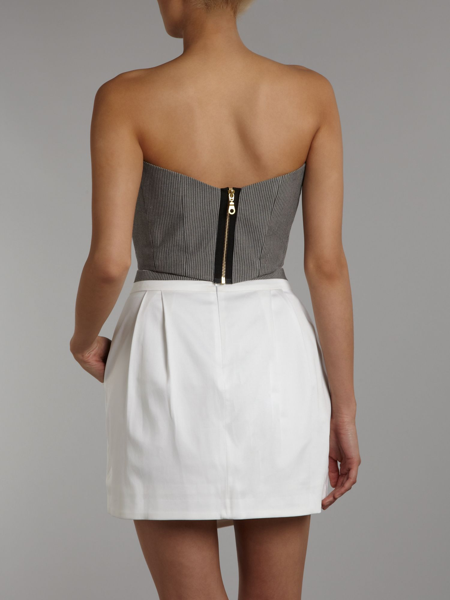 Hedonia collette cropped bustier top