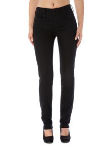Secret Push-In straight jeans in Black