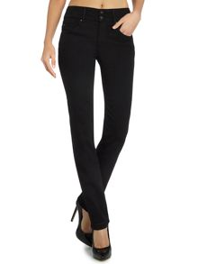 Salsa Secret Push-In straight jeans in Black