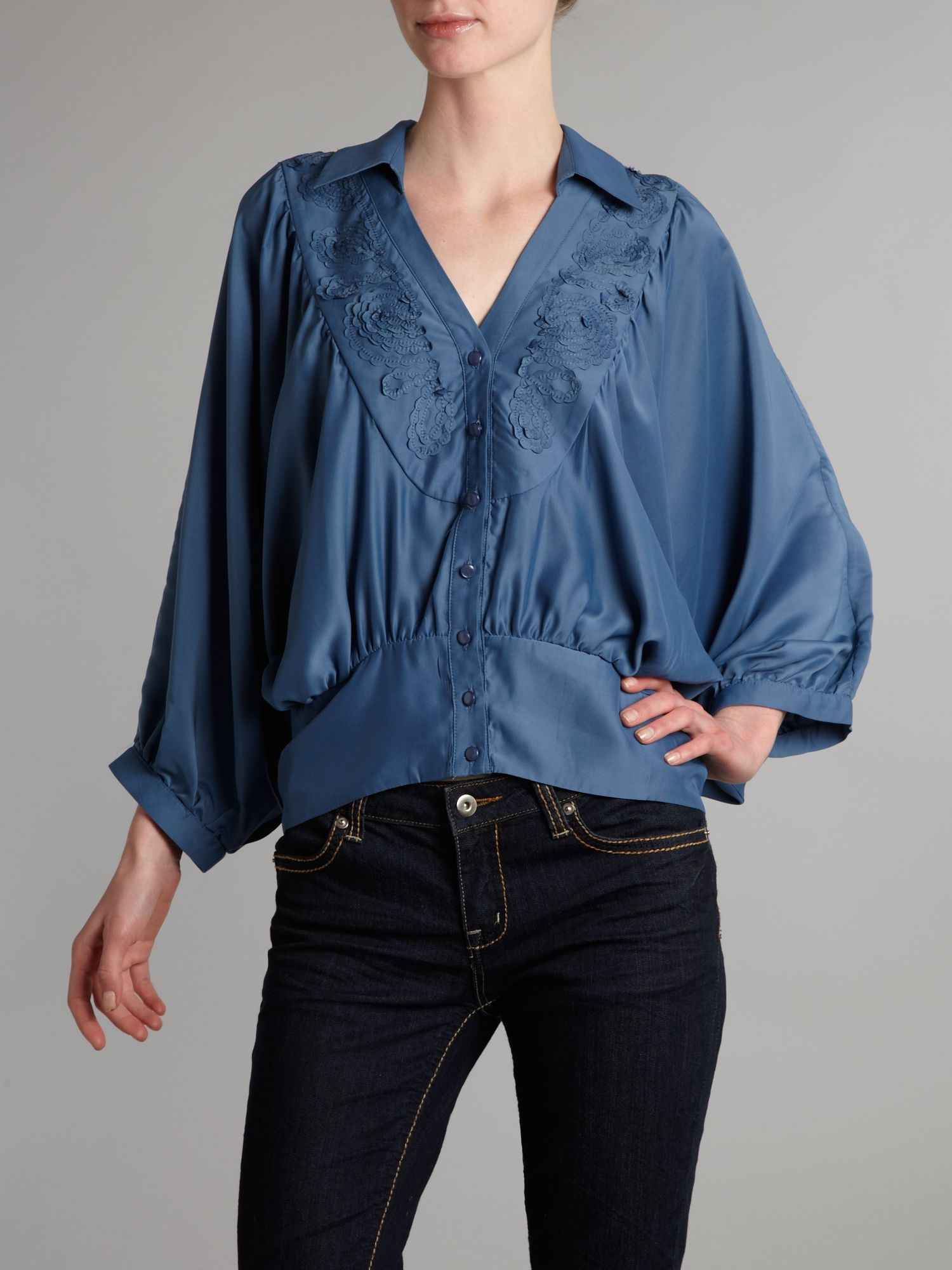Vivi Boutique floaty batwing blouse