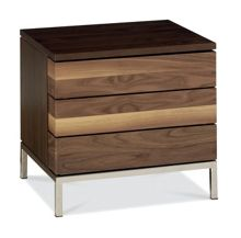Dalston 2 drawer bedside chest
