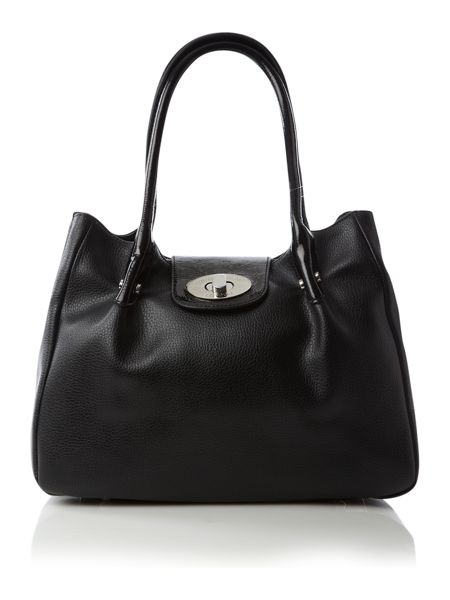 Lulu Guinness Mid romilly pleat tote bag