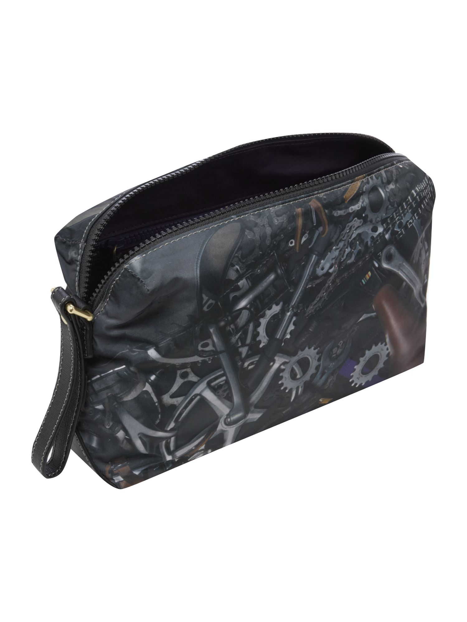 Bicycle print washbag