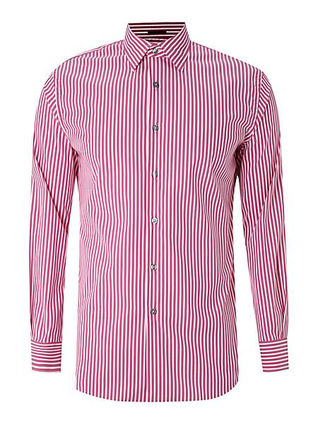 Paul Smith London Long Sleeved Butchers Stripe Shirt - Was £150.00
