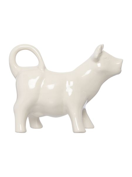 Linea Homespun dotty cow creamer