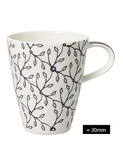 Caffe club floral steam mug