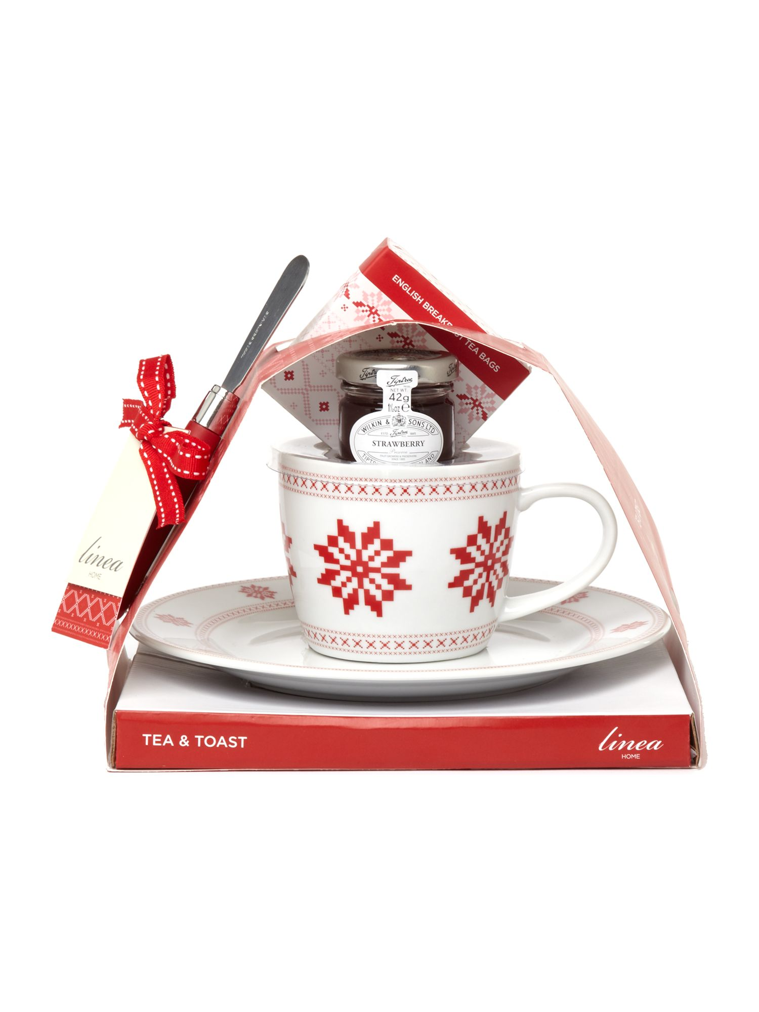 Linea tea & toast set