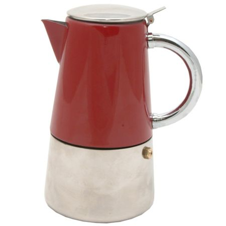 Typhoon Novo Espresso Maker, Red