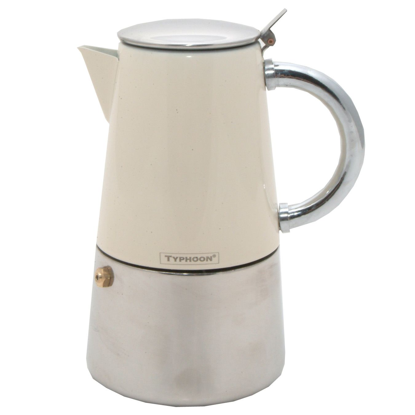 Novo Espresso Maker, Cream