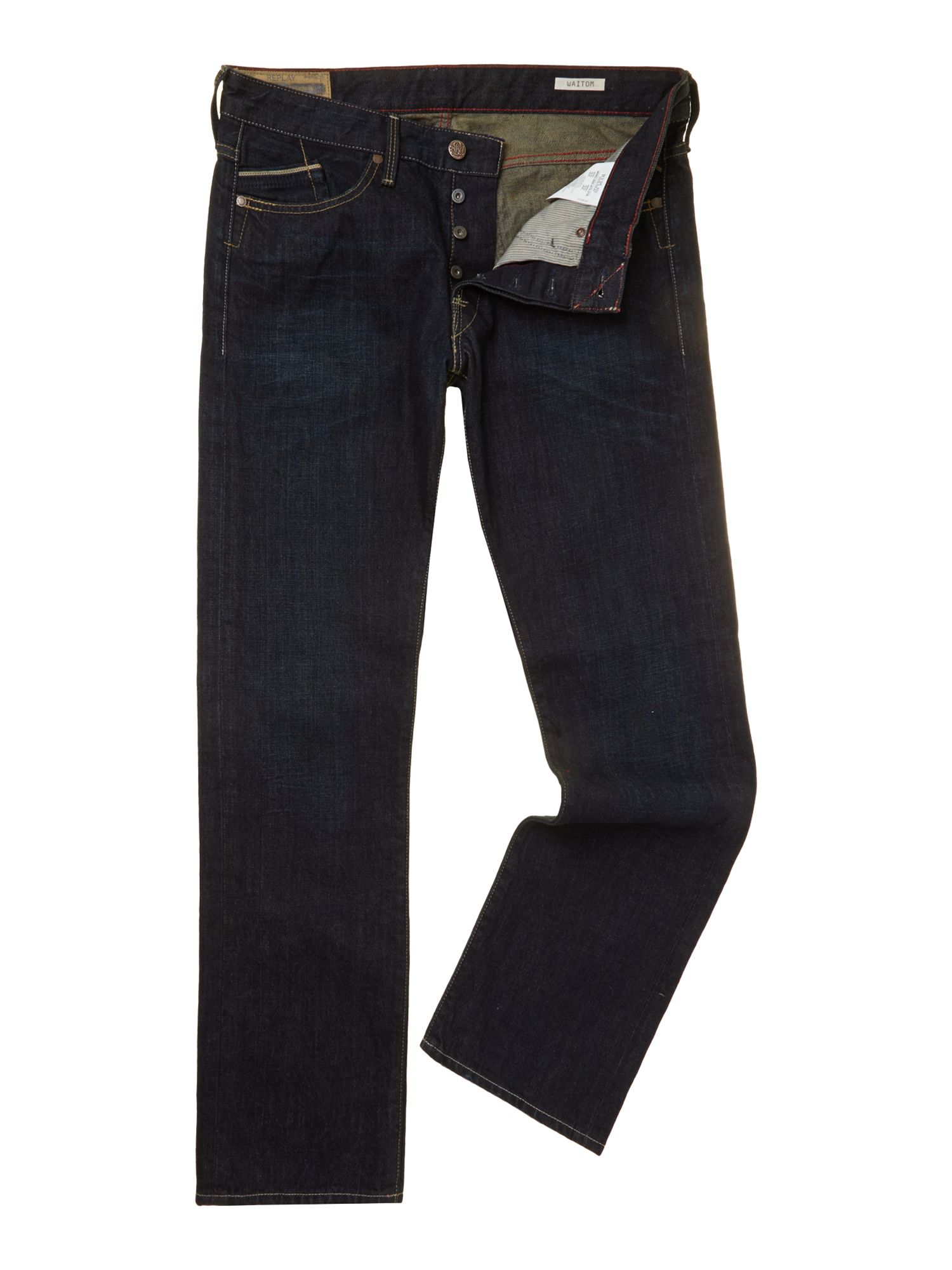 Waitom slim fit denim jeans
