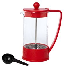 Brazil red French press coffee maker